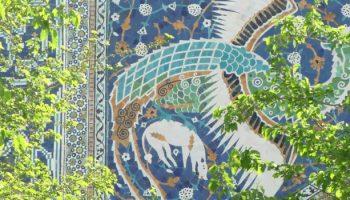 Radtour-Tadschikistan-Usbekistan-Ornamente-Samarkand-Buchara_01