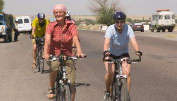 Radtour-Tadschikistan-Usbekistan-Radetappe-Richtung-Samarkand